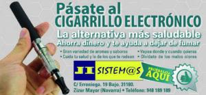 Venta de cigarrillos electronicos en Pamplona