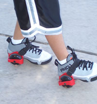 Patines con luces ajustables