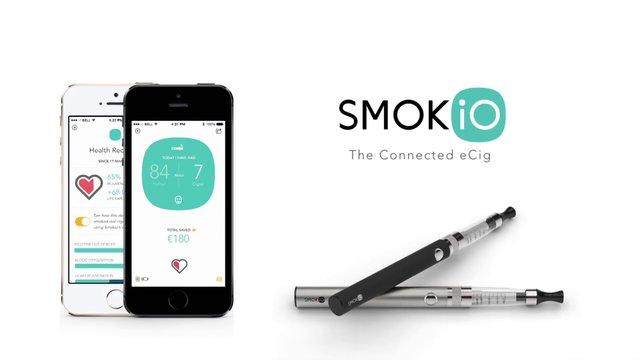 Cigarrillo electronico conectado