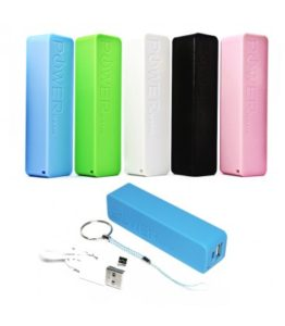 Bateria Power Bank 2600