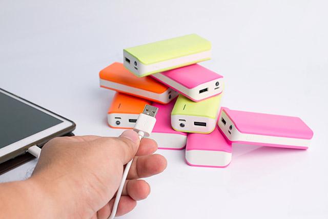Batería externa Power Bank para móvil y tablet