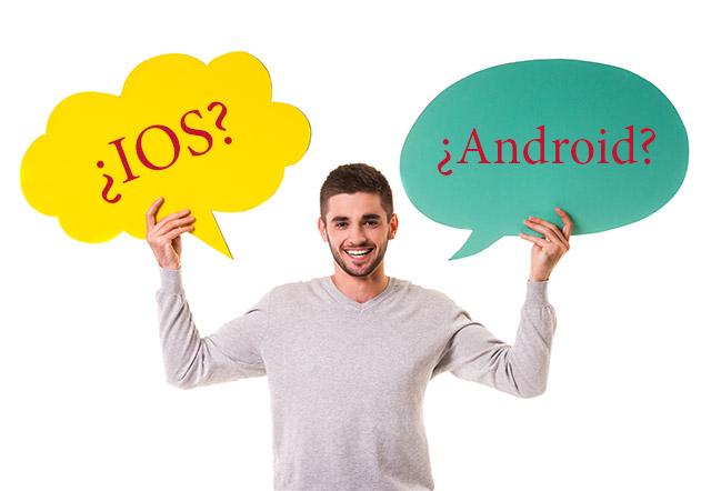 ¿Ios o Android? ¿Qué móvil me compro?