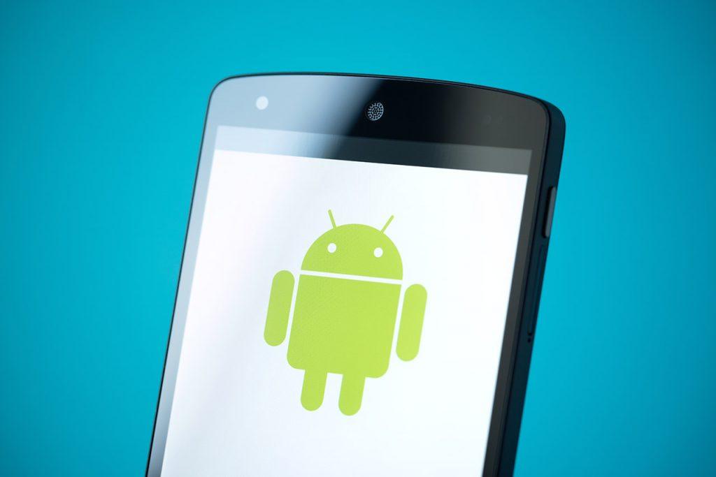 Móvil con sistema operativo Android