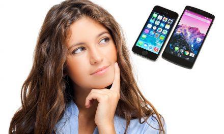 ¿Me compro un móvil Android o un iPhone?