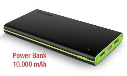 Power bank 10.000 mAh: te ayudamos a elegir