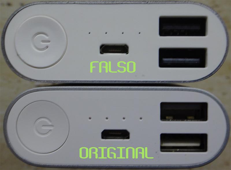 Xiaomi original y falso