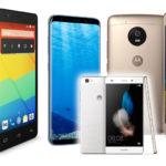 Los móviles de moda en 2017: Huawei P8, BQ Aquaris, Motorola G5 y Galaxy S8